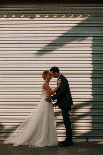 Contemporary Vineyard Wedding