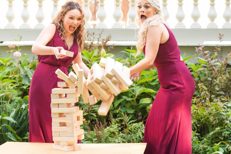 Giant Jenga Game Rentals in NY