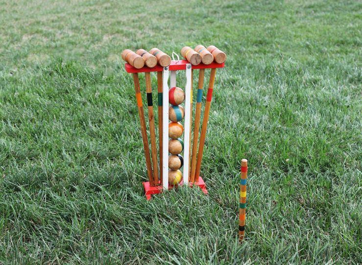 Vintage Croquet Game Rental