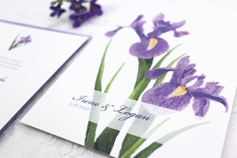 Louisiana Iris Garden Suite