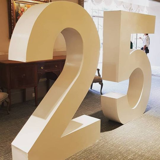 Giant Letters & Wedding Decor