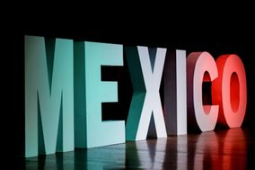 Giant Letters & Wedding Decor Riviera Maya Cancun