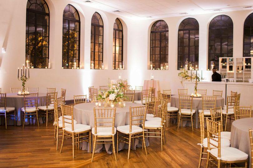 Evening ballroom