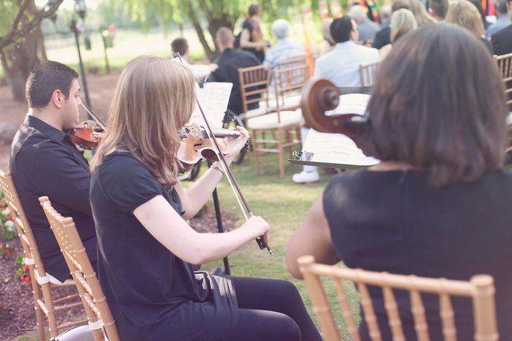 String Trio-Outdoor Wedding