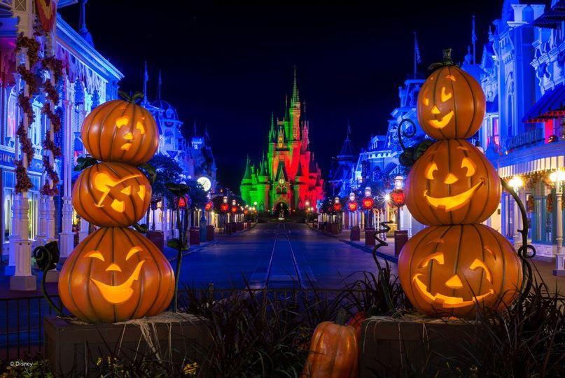 Fall-themed Disney location