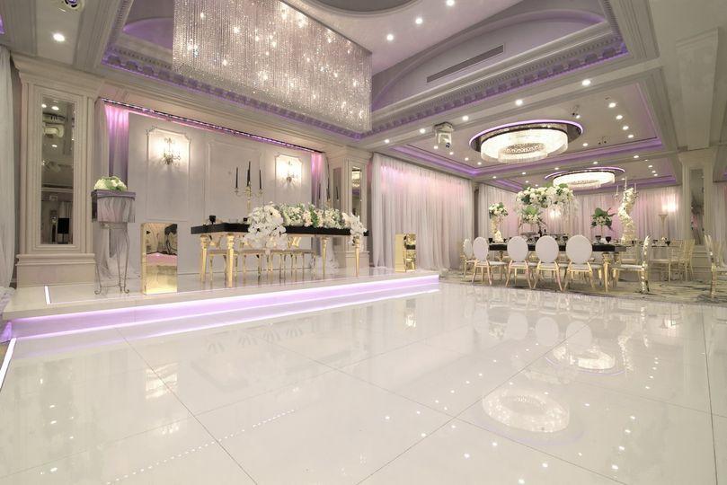 Refined ballroom