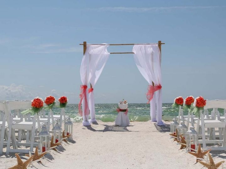 Tmx 1440086582060 Clearwater Beach In Coral And Clover Saint Petersburg wedding planner