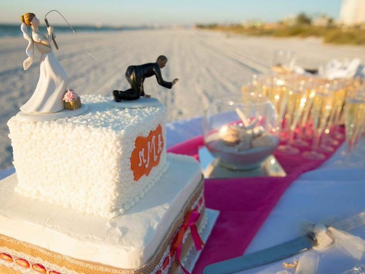 Tmx 1440086614113 Cake And Bubbly At Pass A Grille Saint Petersburg wedding planner