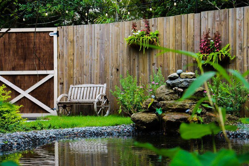 Garden Spring & rock fountain