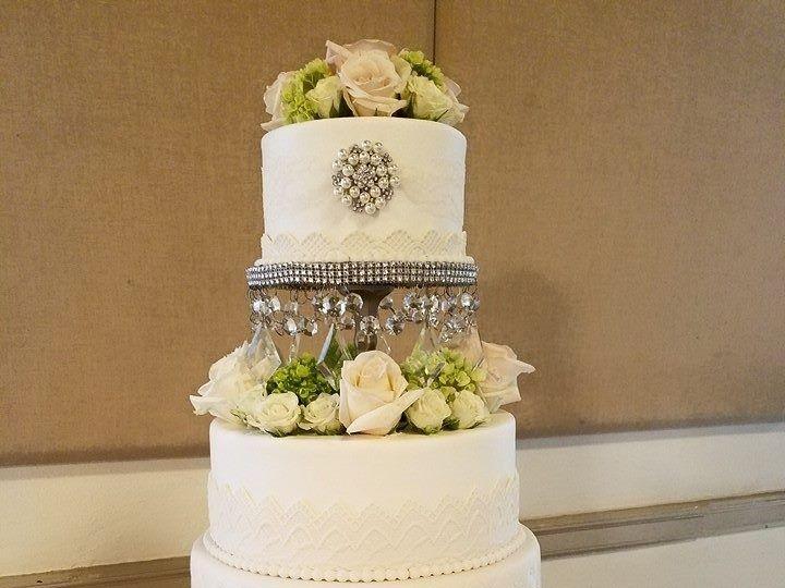 Tmx 1460032961664 Courtney Wedding Cake2 Winter Haven wedding cake
