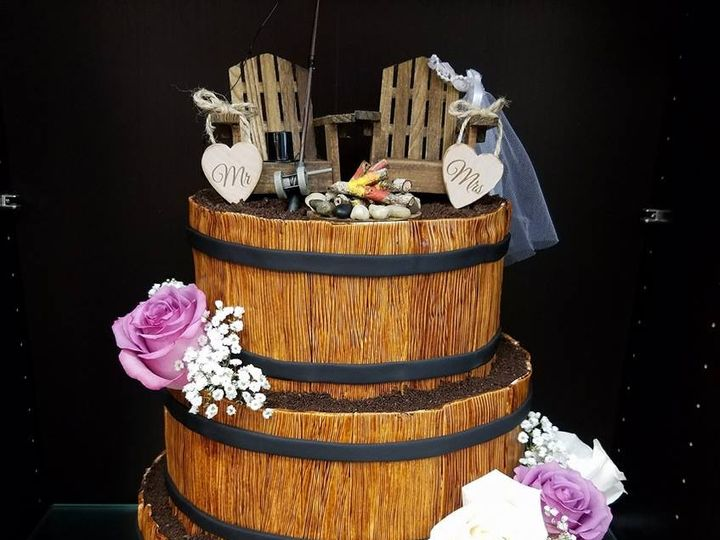 Tmx 1477274274285 Barrel Cake Winter Haven wedding cake