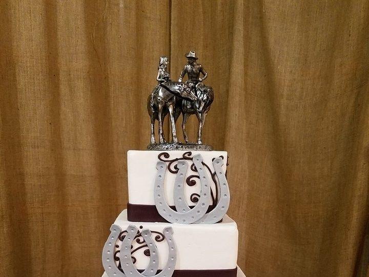 Tmx 1477274344565 Cori And Ken2 Winter Haven wedding cake