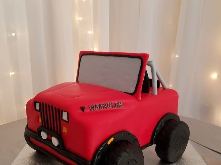 Tmx 1477274412854 Jeep Cake Winter Haven wedding cake