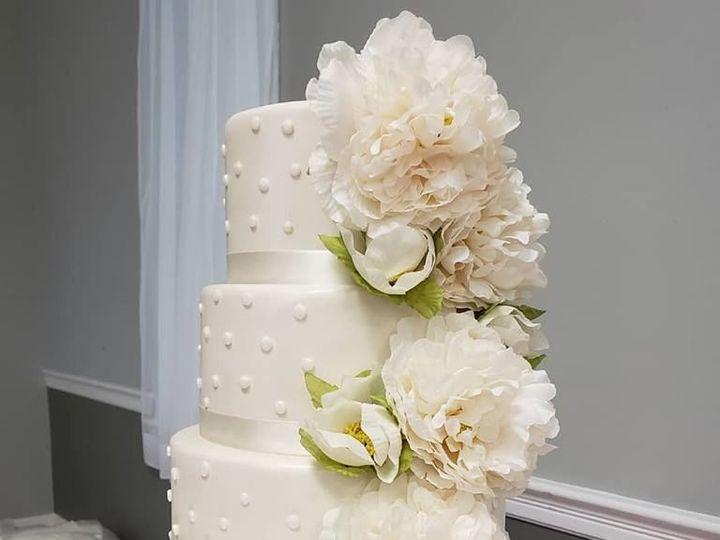 Tmx 1530892374 7672a8c8dfae0438 1530892373 1d7355dd86c37cdb 1530892373062 2 2a Winter Haven wedding cake