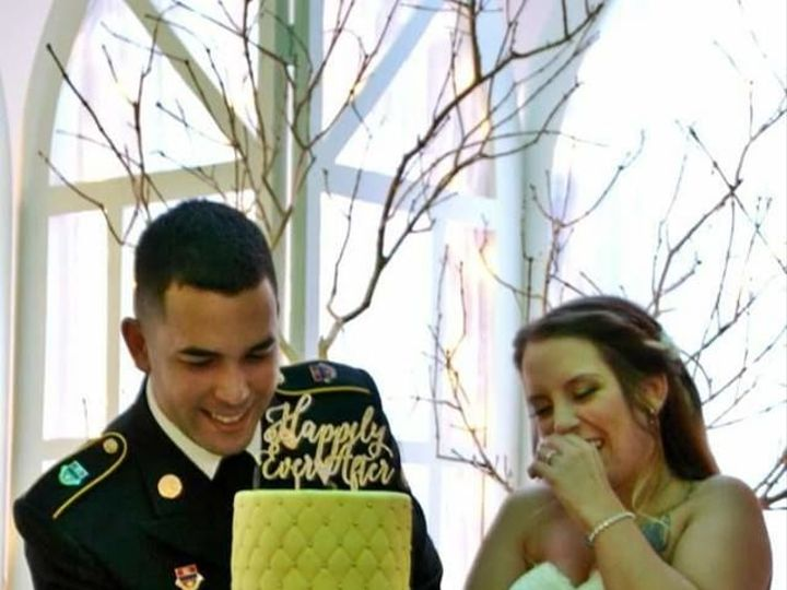 Tmx 1530892385 9a882862d3e22a14 1530892384 5df9e5921d70e35c 1530892384580 4 356 Winter Haven wedding cake
