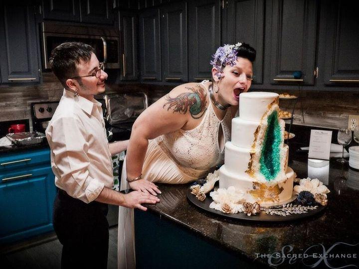 Tmx 1530892411 B56cdc52891296d5 1530892410 C6ec5bd2fb0ce0de 1530892410516 7 Wedding Cakes111 Winter Haven wedding cake