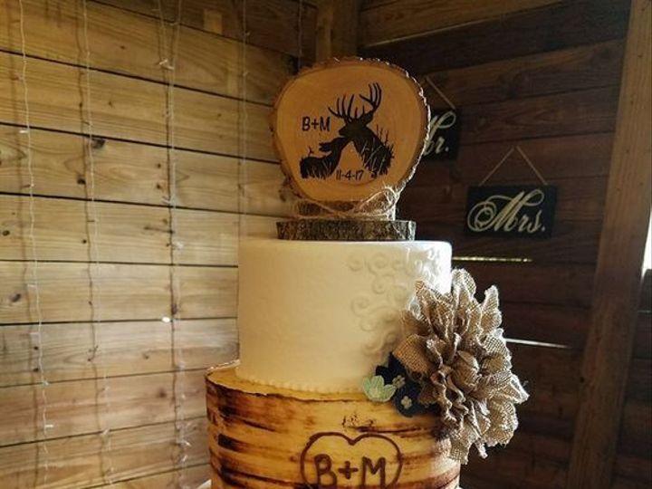 Tmx 1530892460 6194b895c9685595 1530892459 65d0b234073805a5 1530892459165 10 Tree Wedding Cake Winter Haven wedding cake