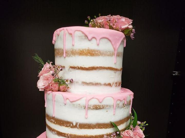 Tmx 1530892567 726aa4326fe96b48 1530892567 E2e32196c7b310ef 1530892567135 11 Pink Naked Ake Winter Haven wedding cake