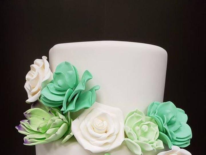 Tmx 1530893376 8dbe30625c03a92b 1530893375 890e27d1e5953e3e 1530893374974 14 2233n Winter Haven wedding cake