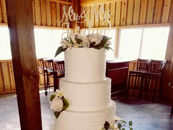 Tmx 1530893395 C87aeab3a8e89e75 1530893394 02086320eaa05d47 1530893394786 16 Jones Wedding Cak Winter Haven wedding cake