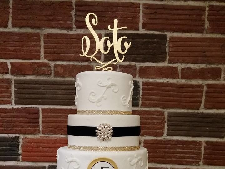Tmx 1531019662 598a3a7e8d8426e4 1531019661 C9383d904e5faeab 1531019663011 15 Soto Wedding Cake Winter Haven wedding cake