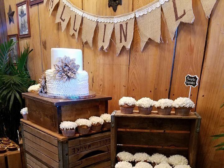 Tmx 1531019677 E150564e0b27d2c0 1531019676 68e013da7535038d 1531019677470 16 Tiffany Wedding2 Winter Haven wedding cake