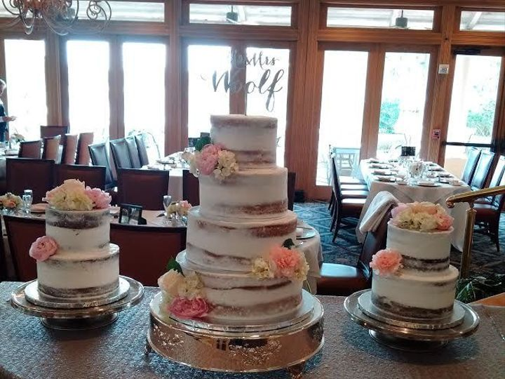 Tmx 1531019795 B7629562cce07ff0 1531019794 991102890575b490 1531019795623 22 Woolf Naked Cake5 Winter Haven wedding cake