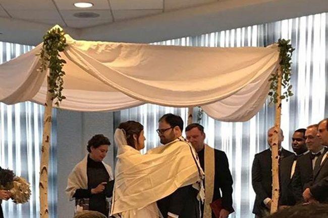 Chicago area wedding