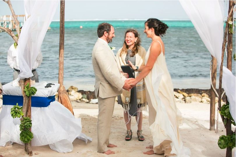 Ceremony by the sea
