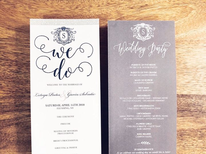 Tmx Img 3928 51 1889723 1572057969 Valley Stream, NY wedding invitation