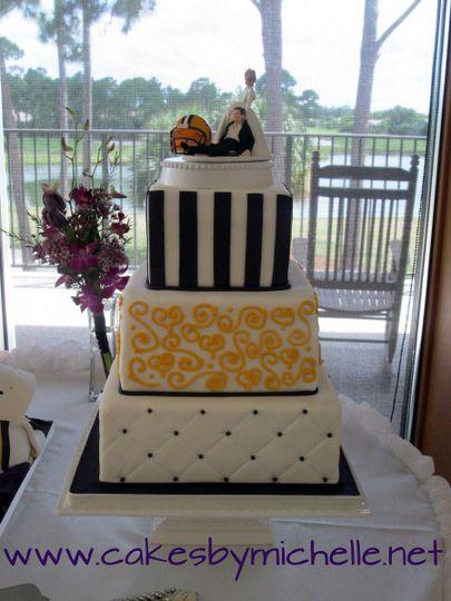 nichole wedding cake