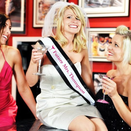 Let the Good Times Roll with this Bachelorette Party Sash and Veil Set.  Choose from several...