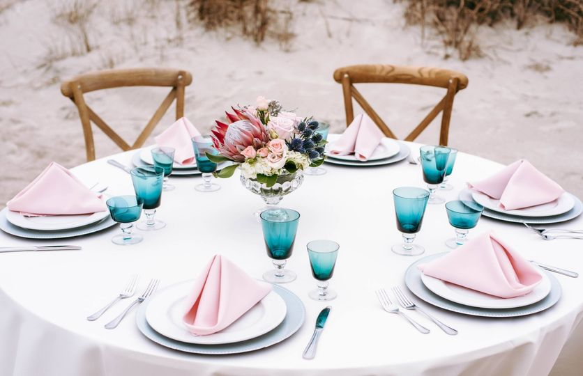 Seaside Tablescape - HenHouse