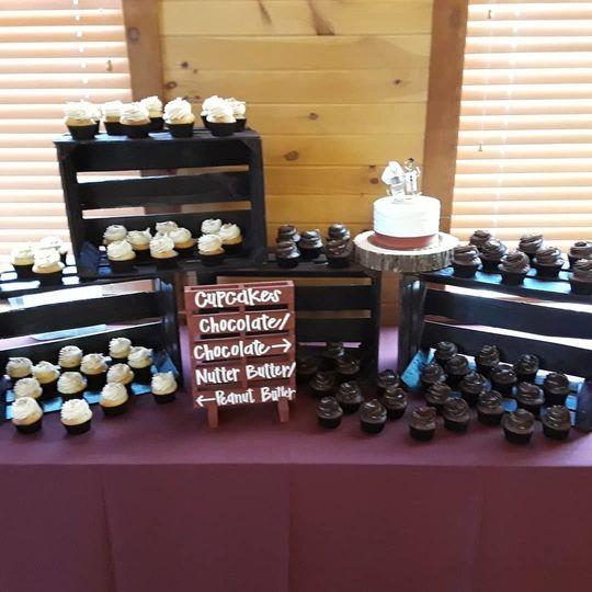 Cupcake station