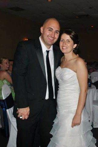 john with bride
