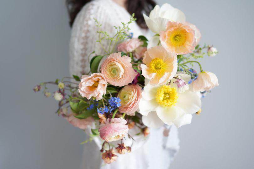 Bridal bouquet -side view