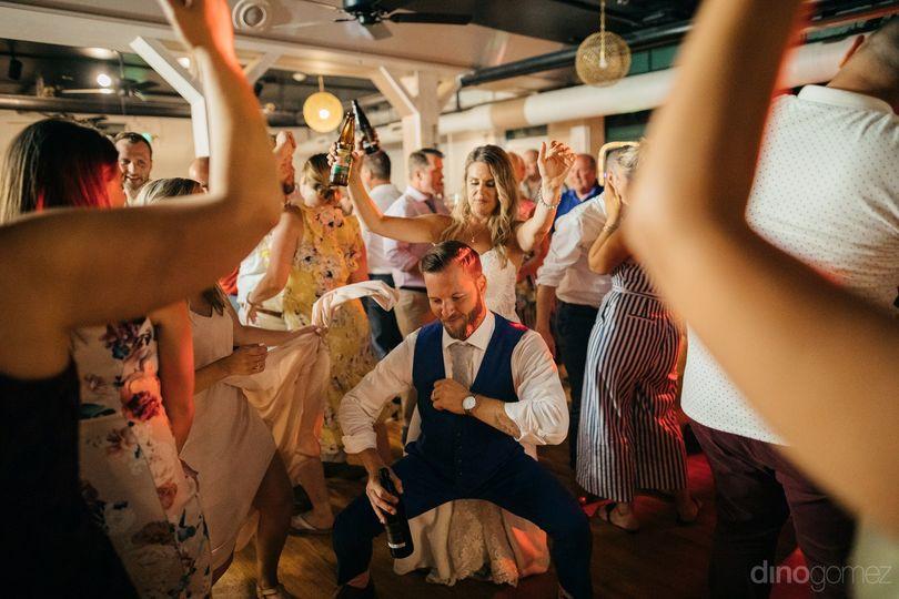 Dance Party in Full Swing