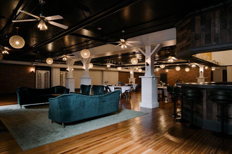 The Emerald Room furnishings