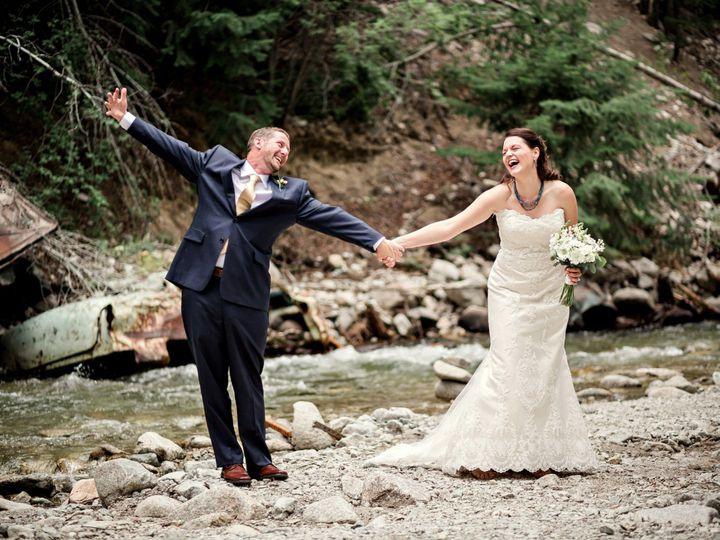 Tmx 1501784487399 Bergstrandbride And Groom By The River Edwards, Colorado wedding planner