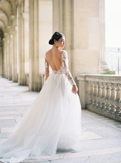 Intimate wedding Paris