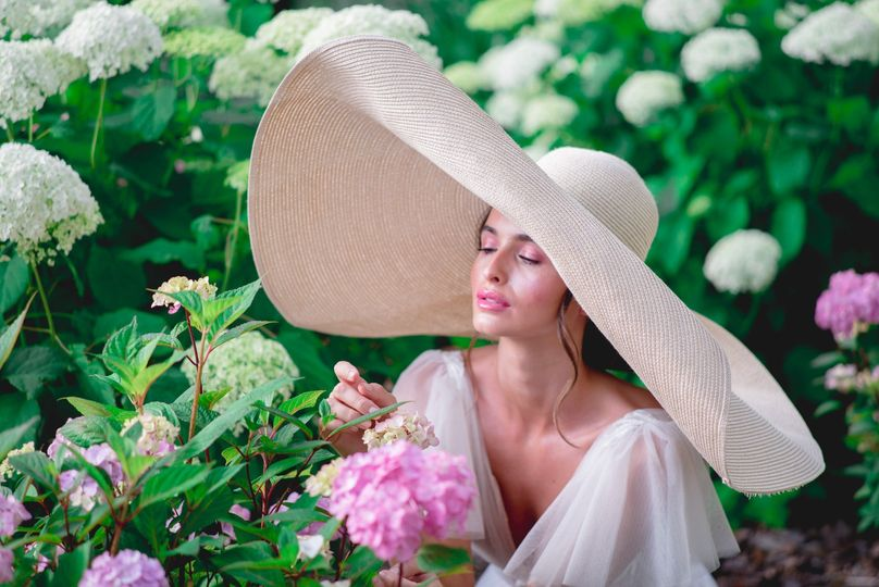 Bride in Provence
