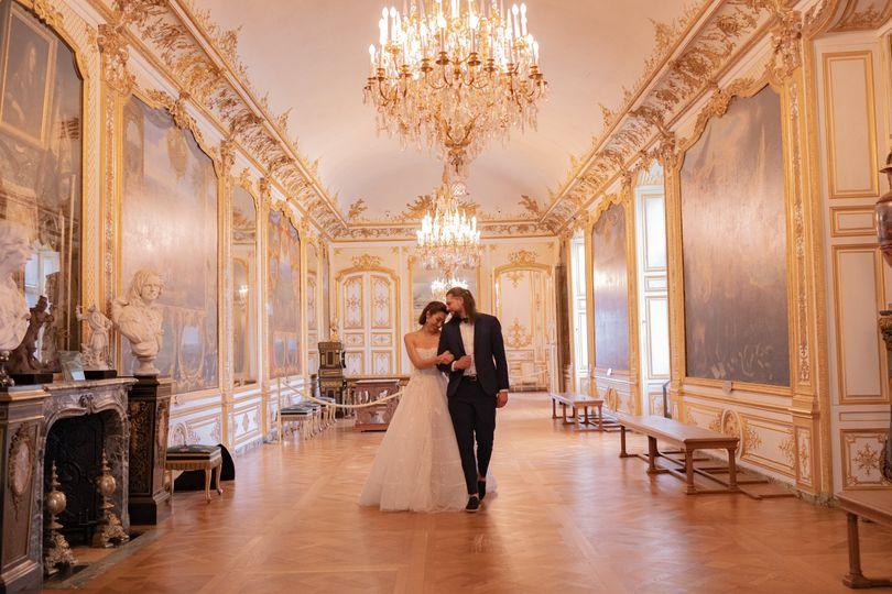 Wedding Chantilly castle