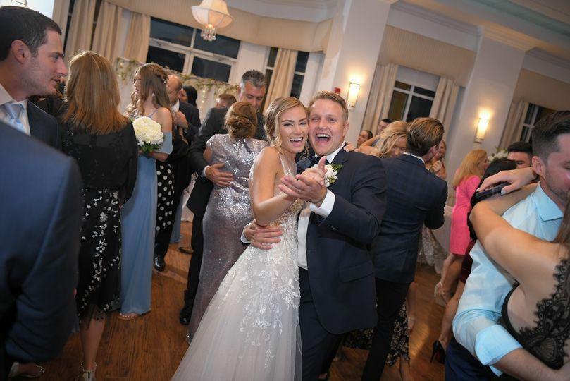 Fun couple dance