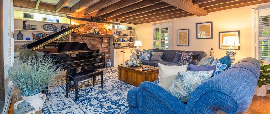 Windsor House Living Room