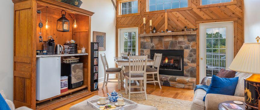 Millstone Barn Living Room