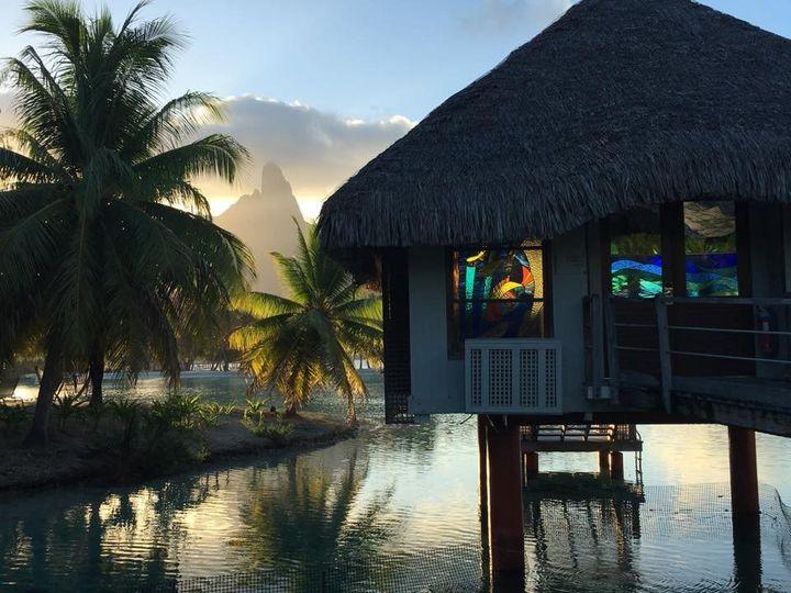 Over water chapel Bora Bora