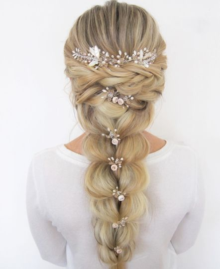 Headpieces for Braids