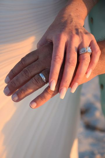 Rings of the couple