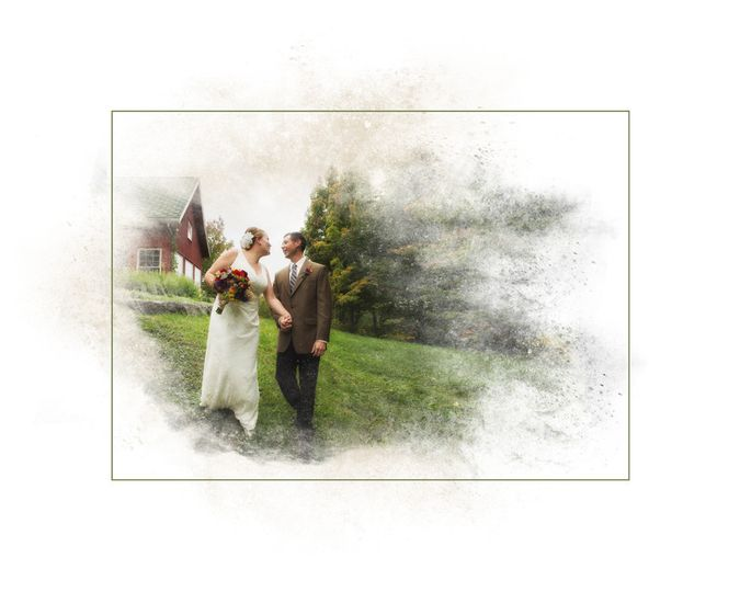 elderberry pond wedding photography painting thp