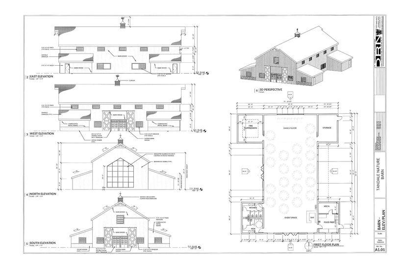 Inside Barn Drawings